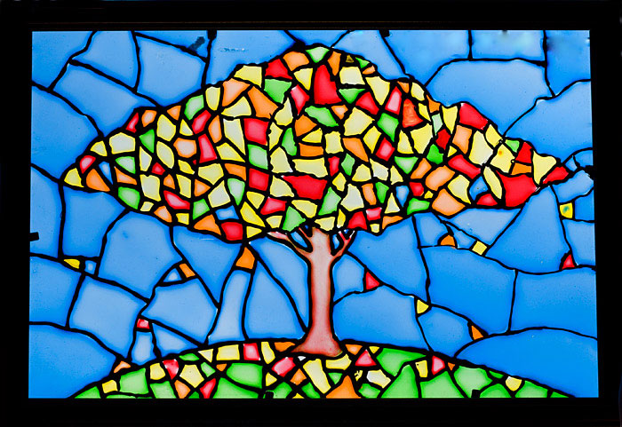 Витраж - Дерево