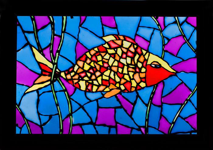 Витраж - Рыба
