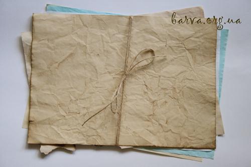 Как состарить бумагу. 5 разных способов состаривания