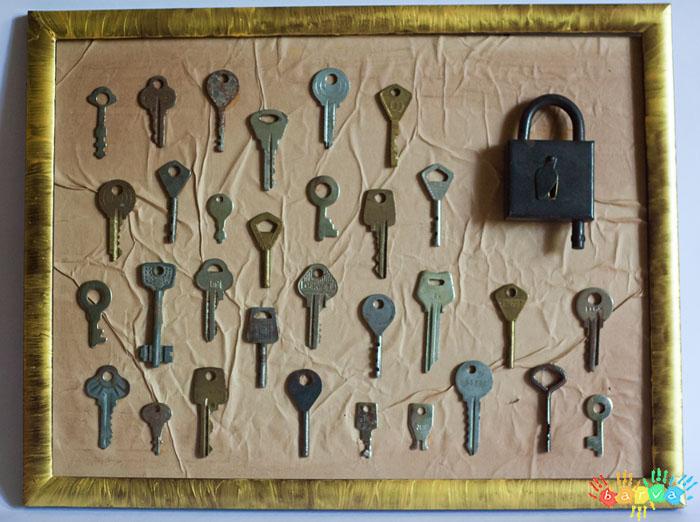 Поделки из старых ключей своими руками 29