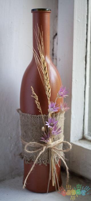 бутылка Летняя бутылочка.