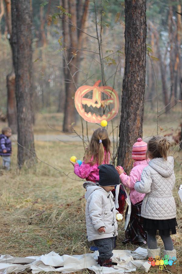 Хелловін. Сценарій дитячого свята.